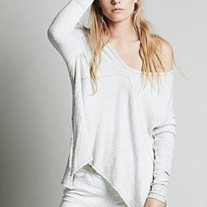 Free People NEW Sunset Park Waffle Thermal $148
